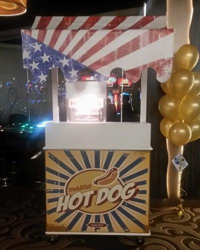 Hotdogkar huren in regio Den Haag