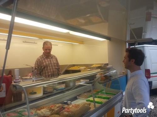Snackkar huren in regio Den Haag
